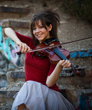 Lindsey Stirling Violin - Obrázkek zdarma pro Nokia Asha 310