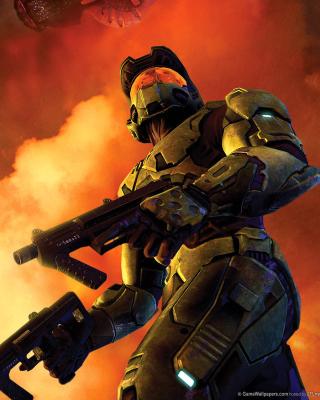 Halo 3 Game - Obrázkek zdarma pro Nokia X3-02