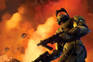 Halo 3 Game - Obrázkek zdarma pro Samsung T879 Galaxy Note