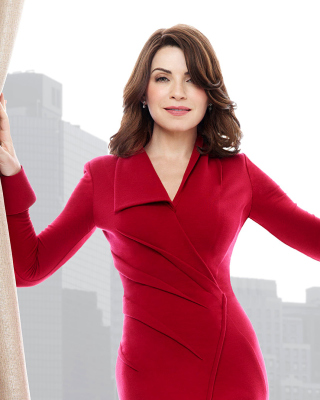Julianna Margulies in TV The Good Wife - Obrázkek zdarma pro 320x480