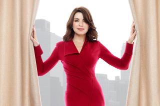 Julianna Margulies in TV The Good Wife sfondi gratuiti per Nokia Asha 302