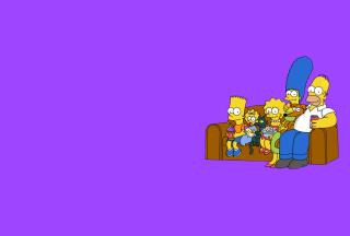 The Simpsons Family - Obrázkek zdarma pro Samsung Galaxy Grand 2