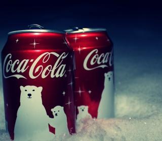 Christmas Coca-Cola - Obrázkek zdarma pro 128x128