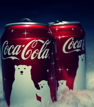 Christmas Coca-Cola - Obrázkek zdarma pro Nokia Asha 203