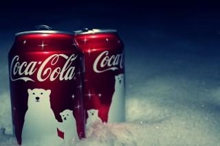 Christmas Coca-Cola - Obrázkek zdarma pro Nokia Asha 205