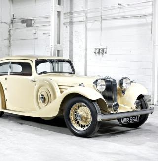 Jaguar Classic Car - Obrázkek zdarma pro iPad mini