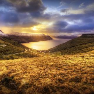 Faroe Islands Landscape - Obrázkek zdarma pro 1024x1024