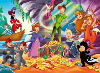 Peter Pan Wallpaper for Android, iPhone and iPad