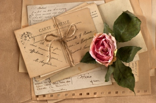 Vintage Love Letters Picture for Android, iPhone and iPad