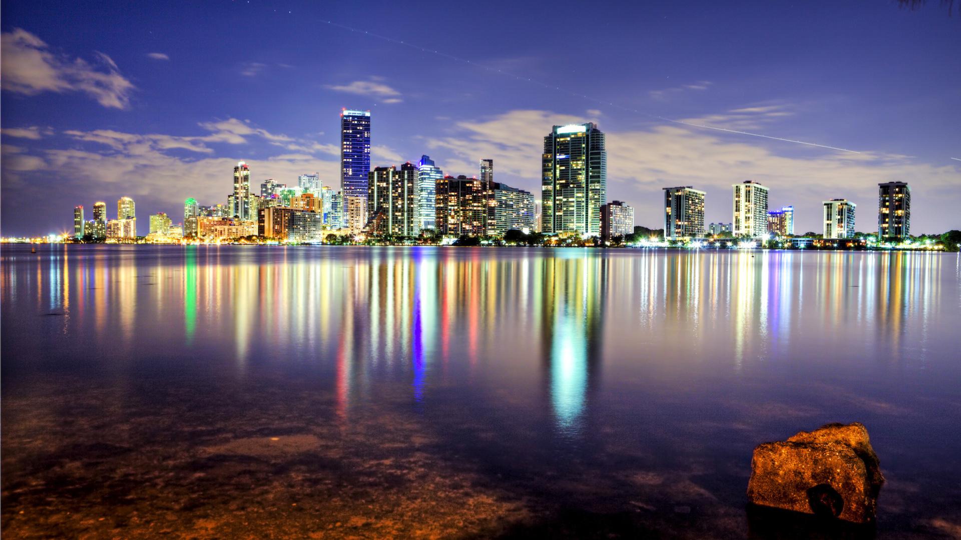 Miami florida houses fondos de pantalla gratis para for Fondos de escritorio full hd