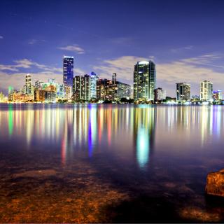 Miami, Florida Houses - Obrázkek zdarma pro 128x128