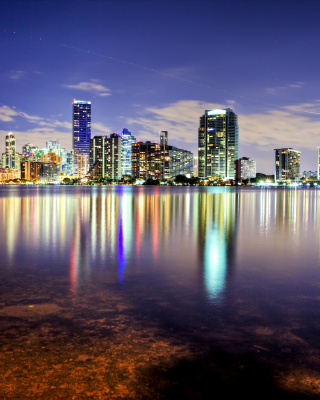 Miami, Florida Houses - Obrázkek zdarma pro 240x432