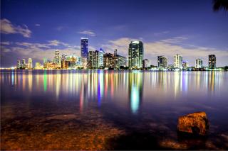 Miami, Florida Houses - Obrázkek zdarma pro Fullscreen 1152x864