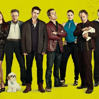 Seven Psychopaths with Colin Farrell and Sam Rockwell - Obrázkek zdarma pro iPad mini
