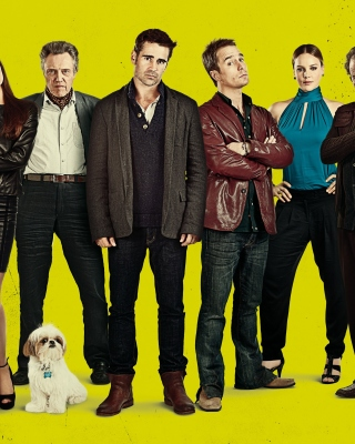 Seven Psychopaths with Colin Farrell and Sam Rockwell - Obrázkek zdarma pro iPhone 6 Plus