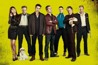 Seven Psychopaths with Colin Farrell and Sam Rockwell - Obrázkek zdarma pro Samsung T879 Galaxy Note