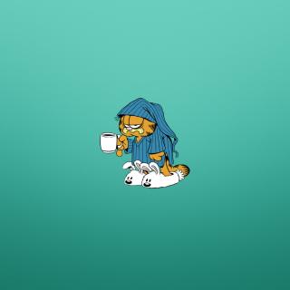Garfield's Monday Morning - Obrázkek zdarma pro 2048x2048