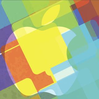 Macbook Logo - Obrázkek zdarma pro iPad 2