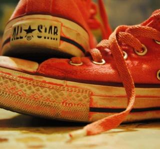 Red Converse All Star - Obrázkek zdarma pro 208x208