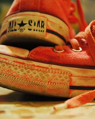 Red Converse All Star - Obrázkek zdarma pro Nokia Asha 502
