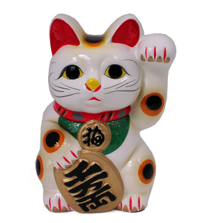 Maneki Neko Lucky Cat - Obrázkek zdarma pro 320x320