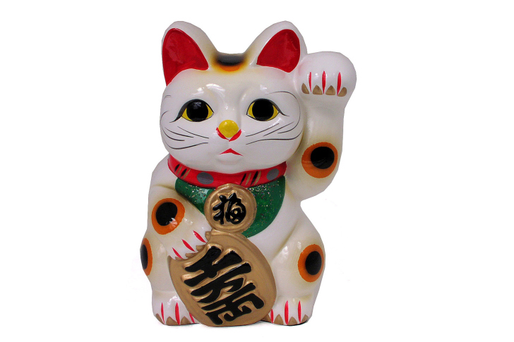 Maneki Neko Lucky Cat wallpaper