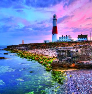 Lighthouse In Portugal - Obrázkek zdarma pro 320x320
