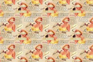 Marilyn Monroe Pattern Picture for Android, iPhone and iPad