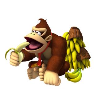 Donkey Kong Computer Game - Obrázkek zdarma pro 128x128