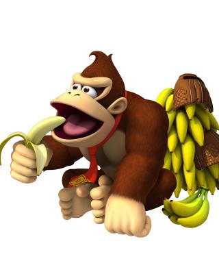 Donkey Kong Computer Game - Obrázkek zdarma pro 176x220