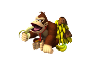 Donkey Kong Computer Game - Obrázkek zdarma pro 1600x1200
