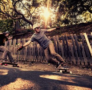 Skateboarding - Obrázkek zdarma pro iPad