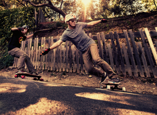 Skateboarding - Obrázkek zdarma pro LG P970 Optimus