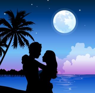 Romantic Paradise - Obrázkek zdarma pro 128x128