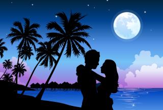 Romantic Paradise - Obrázkek zdarma pro Android 1200x1024