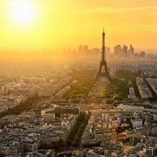 Paris Sunrise - Obrázkek zdarma pro 1024x1024