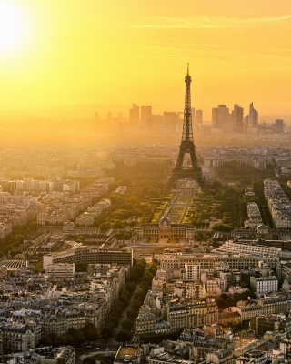 Paris Sunrise - Obrázkek zdarma pro iPhone 4S