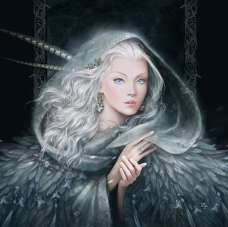 White Fantasy Princess - Obrázkek zdarma pro iPad mini 2