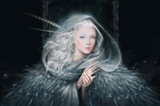 White Fantasy Princess - Obrázkek zdarma pro Nokia Asha 201