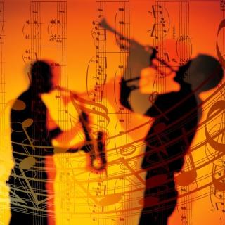 Jazz Duet - Obrázkek zdarma pro 320x320