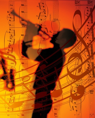 Jazz Duet - Obrázkek zdarma pro 320x480
