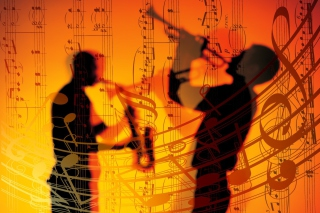 Jazz Duet Background for Android, iPhone and iPad