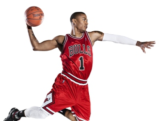 Free Derrick Rose - NBA Star Picture for Android, iPhone and iPad
