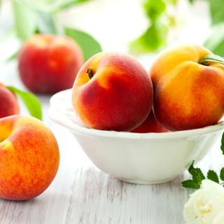 Nectarines and Peaches - Obrázkek zdarma pro iPad mini