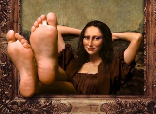 Free Art Parodies - Mona Lisa Picture for Android, iPhone and iPad