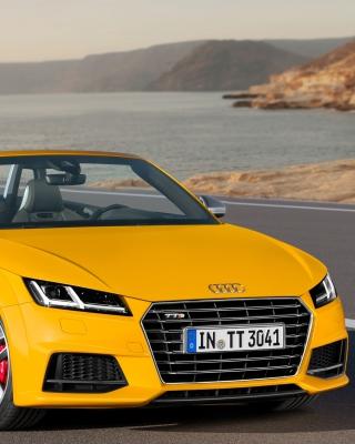 Audi TTS TT Roadster 2014 - Obrázkek zdarma pro Nokia X2