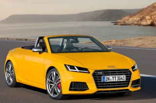 Audi TTS TT Roadster 2014 Picture for Android, iPhone and iPad