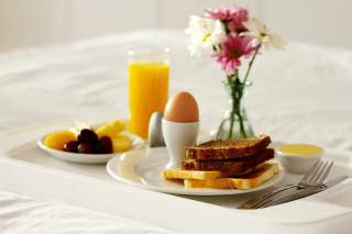 Continental Breakfast Wallpaper for Android, iPhone and iPad