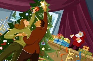 Christmas Means Family Picture for Android, iPhone and iPad