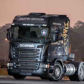 Scania R480 Truck - Obrázkek zdarma pro iPad 2
